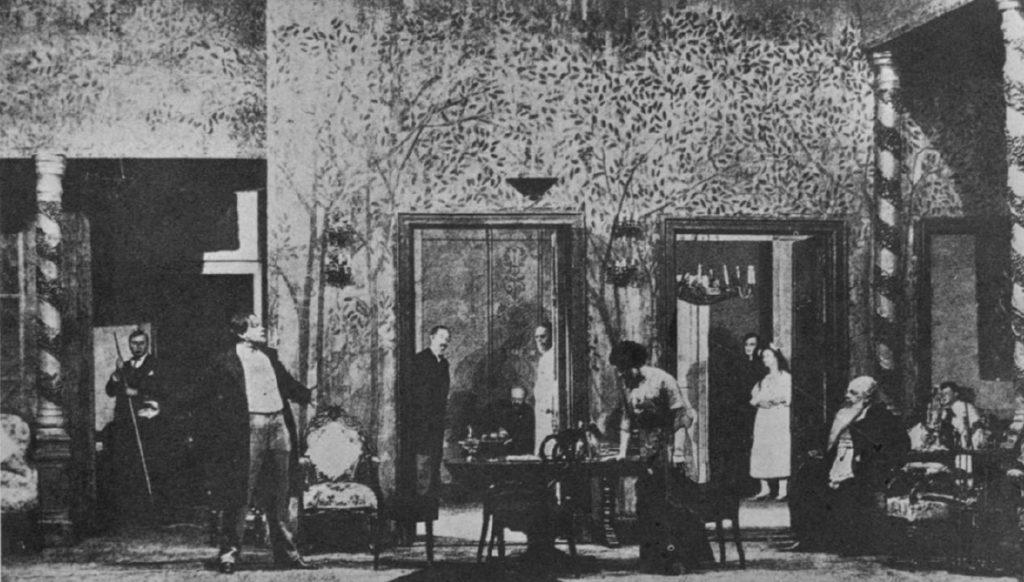 La Cerisaie de Tchekhov, mise en de Stanislavski, 1904.