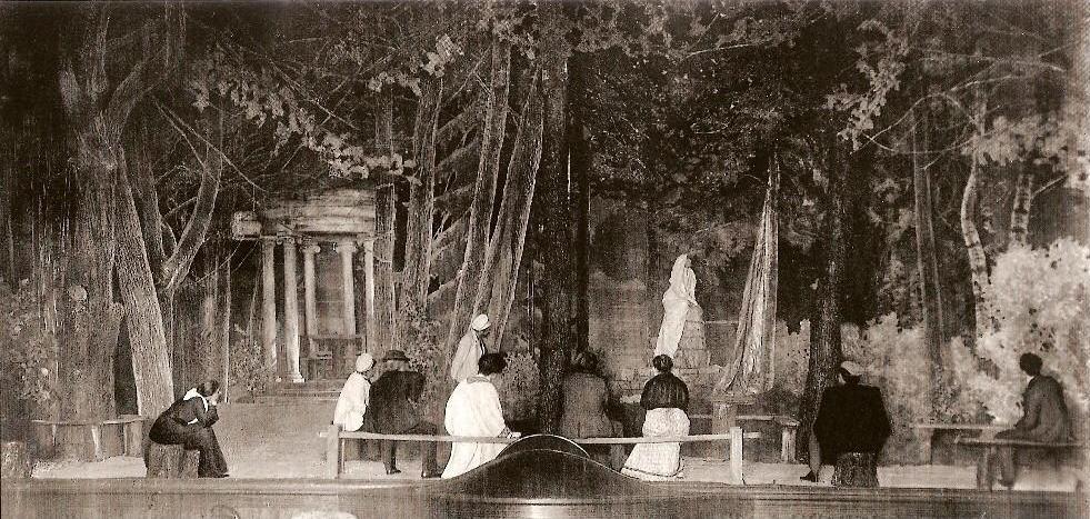 La Mouette, décors de 1898